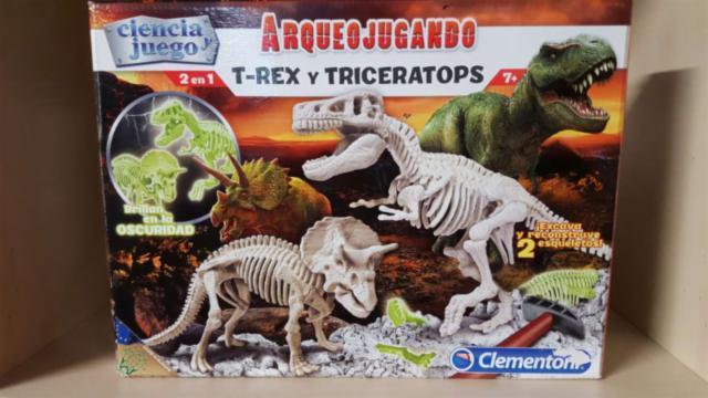 ¿arqueojugando? con dinosaurios