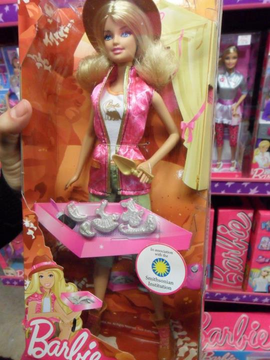 Barbie arqueóloga