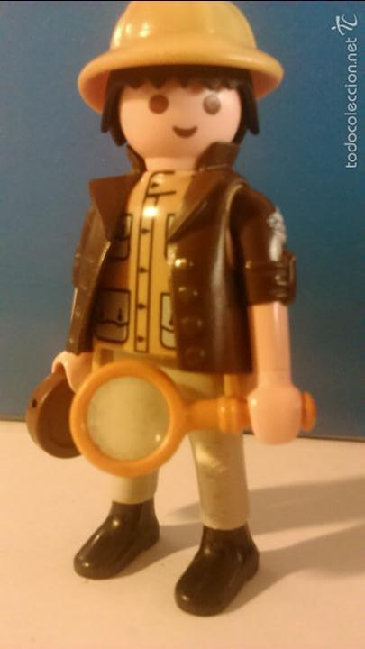 playmobil arqueólogo